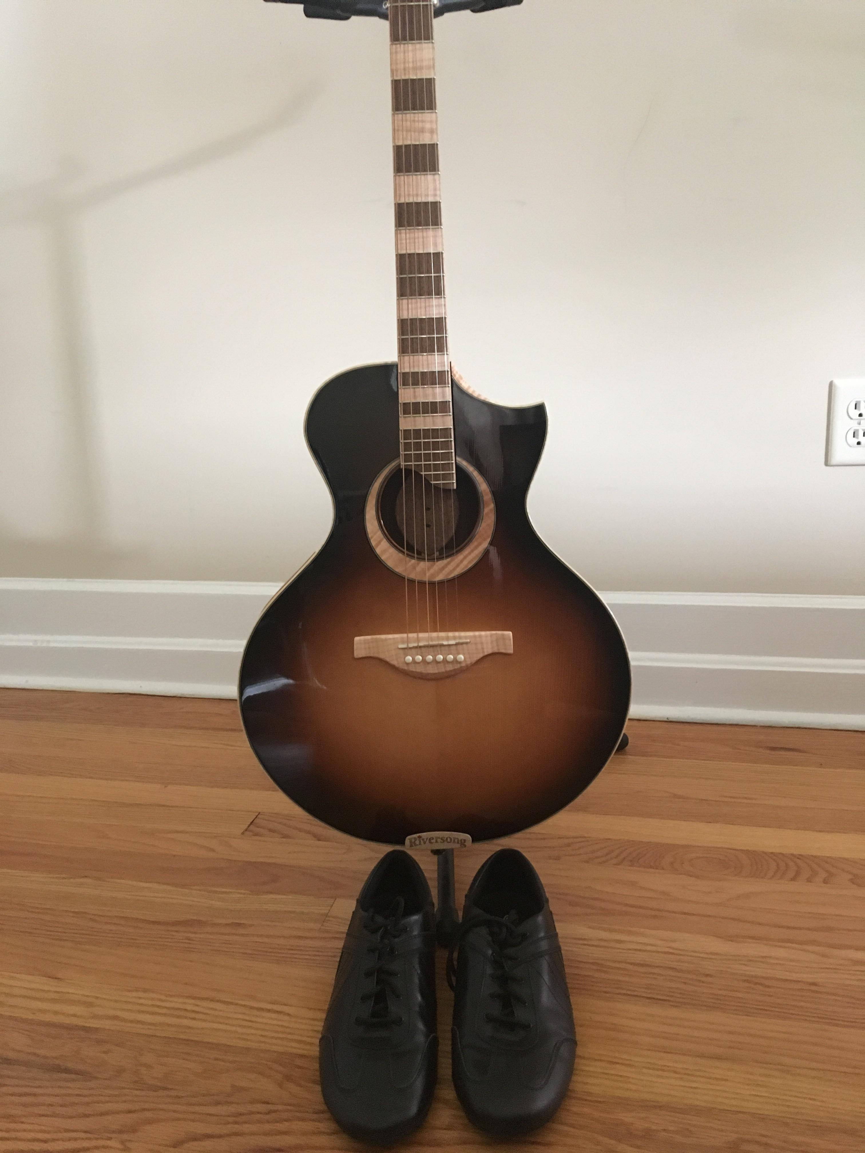 Riversong Guitar Dance shoes